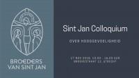 Sint Jan Colloquium over hooggevoeligheid - LET OP: tijden veranderd!